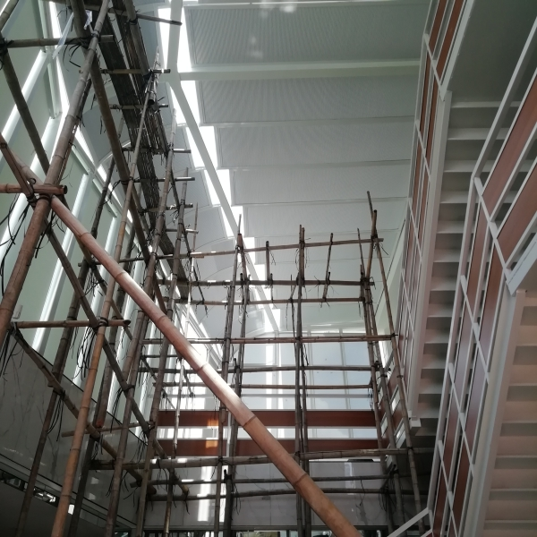 咸宁创力建设工程公司采光顶遮阳帘工程